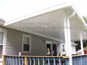 wooden deck awnings deck design and ideas