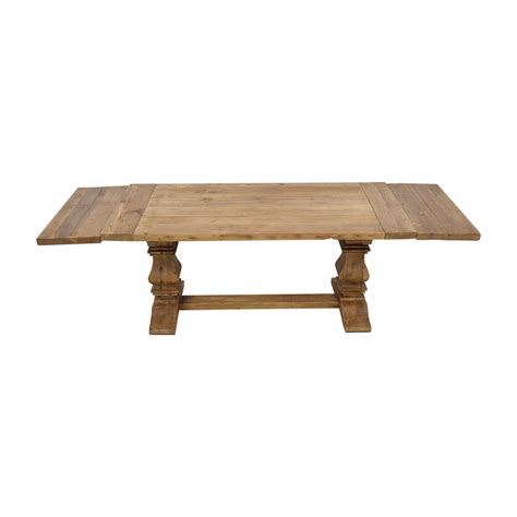 restoration hardware trestle table 63 restoration hardware restoration hardware