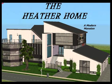 sims 2 house downloads mod the sims heather home a modern mansion