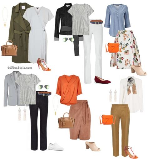 figure clothes capsule wardrobe for the hourglass shape