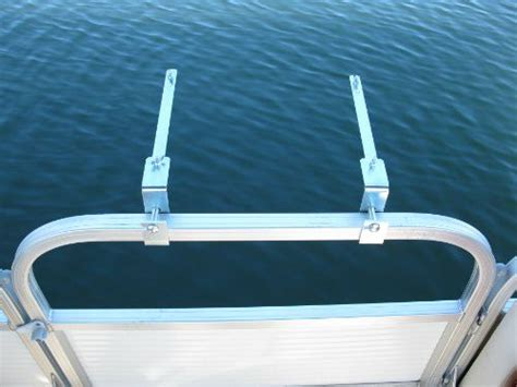 boat rail grill grill mount bracket set for pontoon boat rail 171 zcing