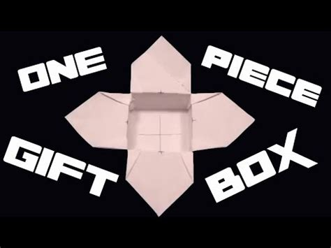 Origami For Intermediates - how to make an origami gift box intermediate