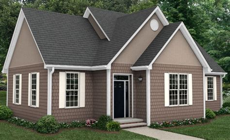 brick homes with vinyl siding colors white brick house with brownish trim white windows