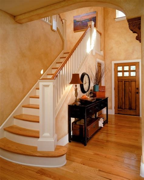 entryway stairs tuscan wall color for the home pinterest