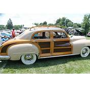 """Chrysler Had Several """"Woodie"""" Models This 4 Door Sedan Plus A"""