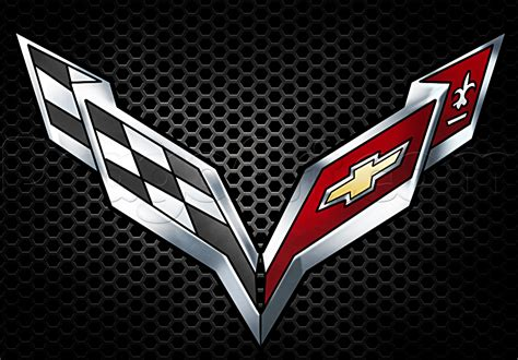 how to draw the corvette logo step by step cars draw