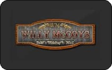 Willys Gift Card - buy willy mccoy s gift cards at a discount giftcardplace