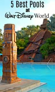the 5 best pools at walt disney world sand and snow