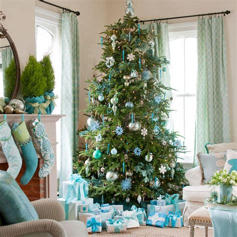 colour themes for xmas trees christmas trees to theme or not to theme house to home