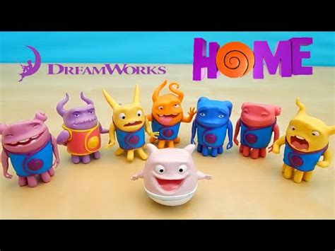 dreamworks home mood figures toys oh captain smek
