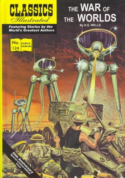 classics illustrated deluxe hc vol classics illustrated 124 war of the worlds