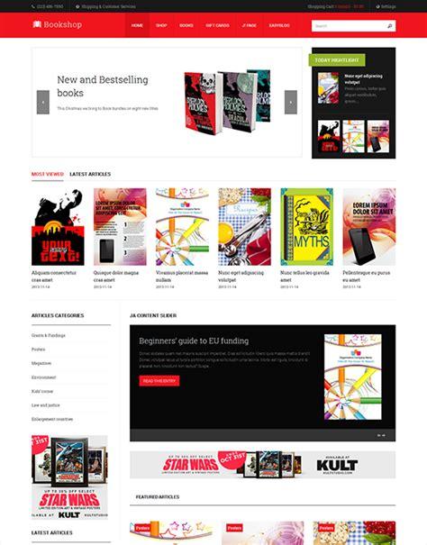 template joomla keren paket tmn bookshop
