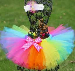 colorful tutu tropical rainbow tutu birthday tutu colorful tutu