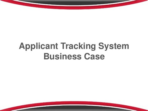 applicant tracking system business