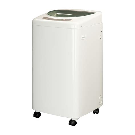 haier 1 0 cu ft portable top load washer with stainless