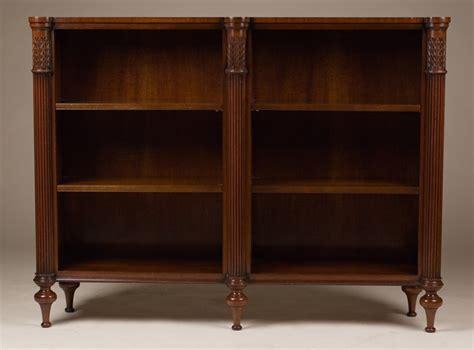 Reproduction Bookcase antique reproduction open bookcase