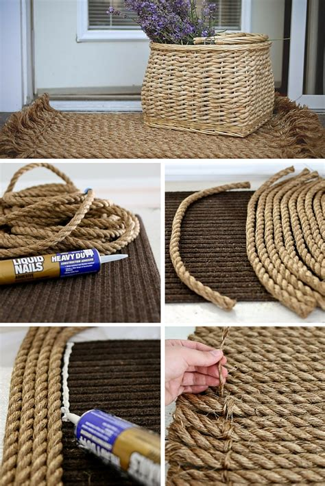 How To Make A Handmade Carpet - rope rug