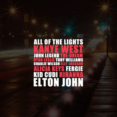 All The Lights Lyrics kanye west all of the lights lyrics genius