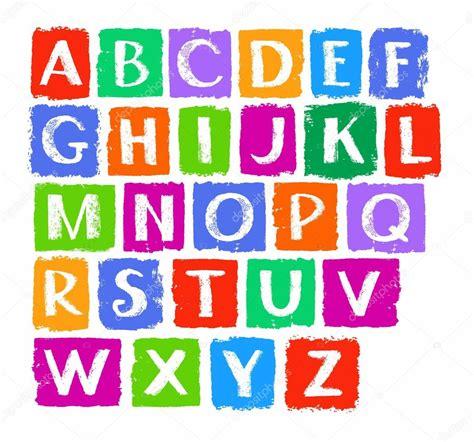 lettere alfabetiche lettres majuscules de l alphabet anglais craie blanche