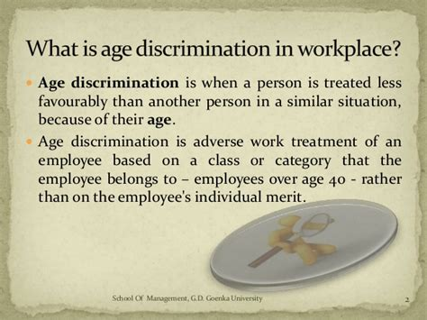 Age Discrimination Essay by Age Discrimination In Workplace Ess