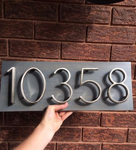 address house numbers house number plaque house number address sign address