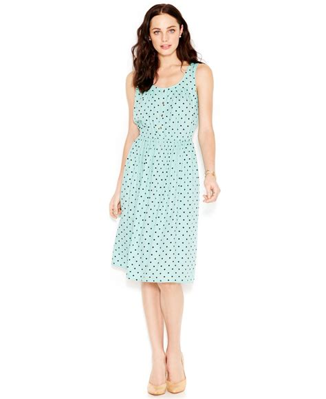 Inez Maxi 04 lyst maison jules printed a line dress in blue