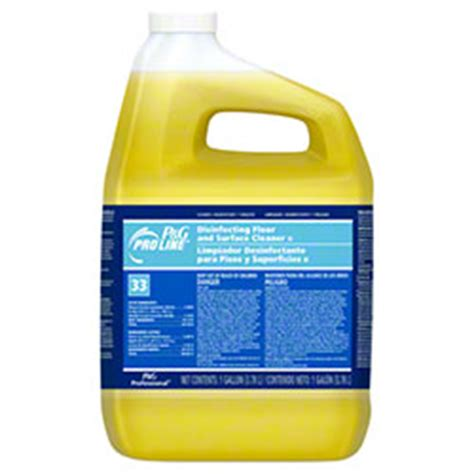 pro   disinfectant finish floor cleaner galclosed