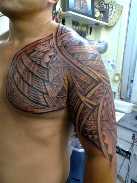 steve ma ching sleeve maori tattoo design of