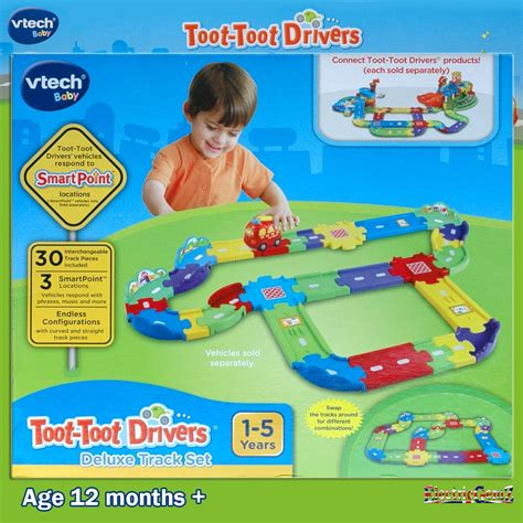 Vtech Deluxe Track Set vtech baby toot toot drivers deluxe 30 track set