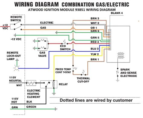 atwood water heater wiring harness  pdxrvwholesale