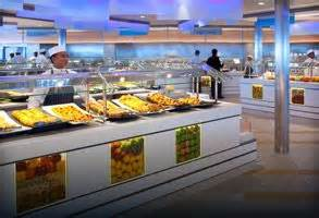 celebrity lounge buffet celebrity cruises buffet good traffic flow and huge