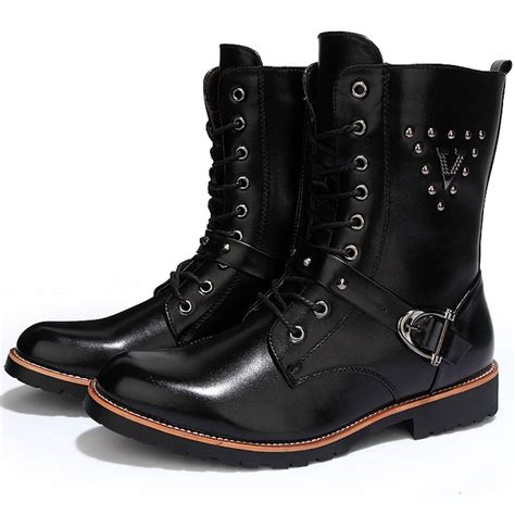 quality motorcycle boots mens cool boots tsaa heel