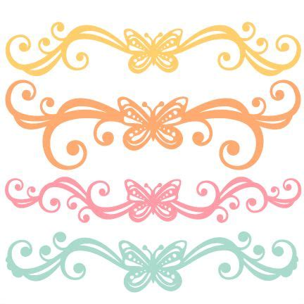 160329 freebie of the day butterfly flourish set svg