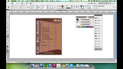 indesign tutorial menu tutorial de indesign men 250 de carta youtube