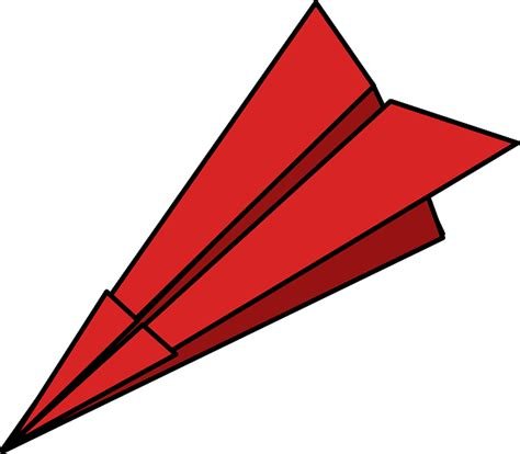 Aeroplane With Paper - free vector graphic paper plane folded paper dart