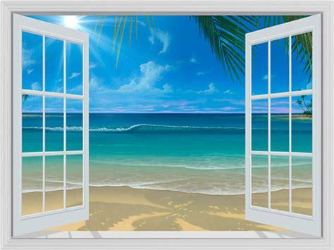 wall mural window house beautiful window treatments murals that look like