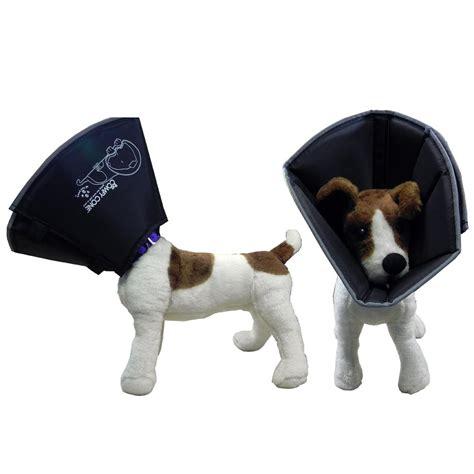 soft e collar for dogs comfy cone soft e collar small black 12 5 cm e collars at arcata pet supplies