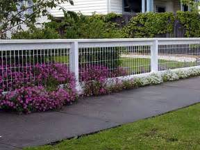 front yard fences pictures backyard fencing ideas for your beautifull garden homesfeed