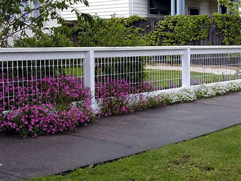 wood fence designs for front yards yard fence ideas wire fencing designs for your front yard