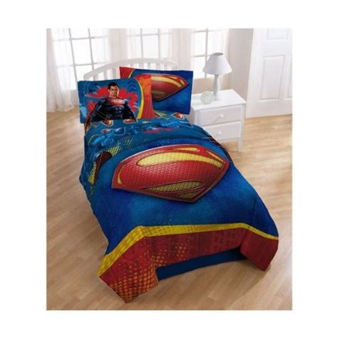 Superman Bedding by New Superman Of Steel Boys Size Reversible