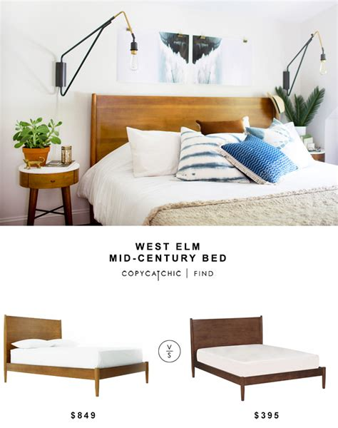 west elm bed reviews west elm mid century bed copycatchic