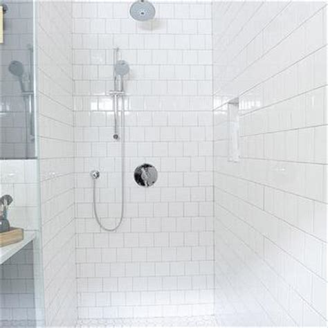 shower with square tiles design decor photos pictures