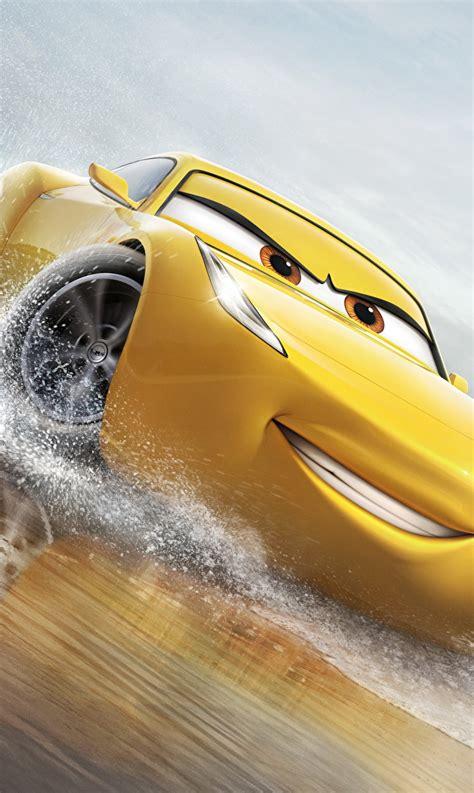 telecharger film cars 3 fonds d ecran cars 3 cruz ramirez jaune sourire dessins