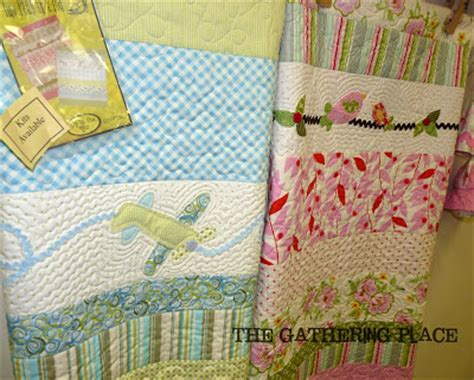 Two Peas In A Pod Quilt Patterns by The Gathering Place Quilts Two Peas In A Pod Baby Quilt Kit