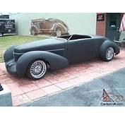 Coffin Nose Speedster 1936 Cord 810 812 Fiberglass Street