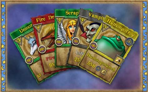 Deck Of Wizard Spells Card Template by Wizard101 Card Magic
