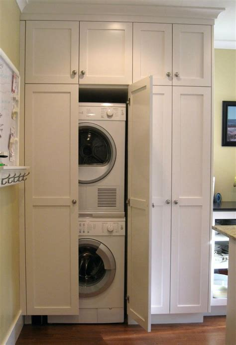 washer and dryer cabinet 1000 images about laundry center on pinterest laundry