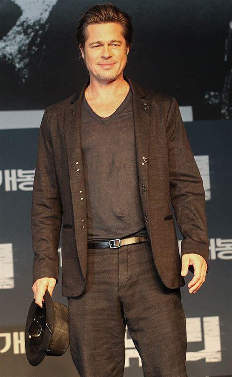 Brad Pitt Wardrobe by Brad Pitt S Suiting Style