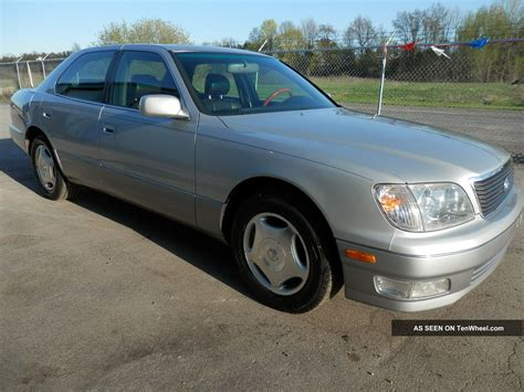 Ls A Import 1999 lexus ls 400 v 8 import sedan