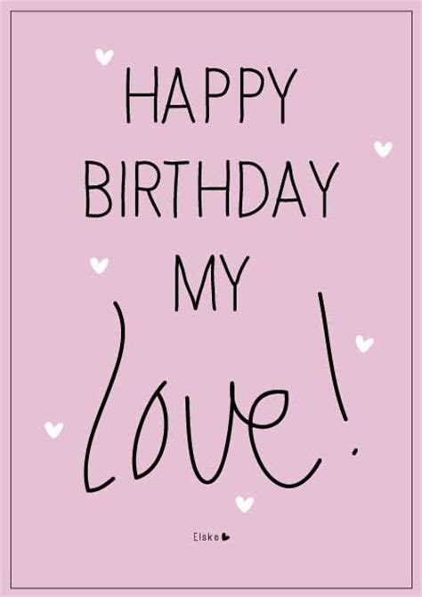 Happy Birthday To My Baby Quotes 25 Best Ideas About Happy Birthday My Love On Pinterest